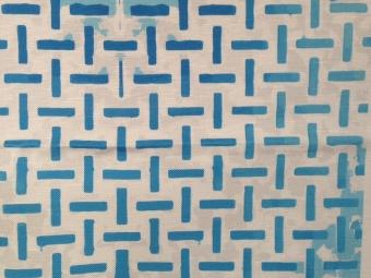 Tekstiler: Blå