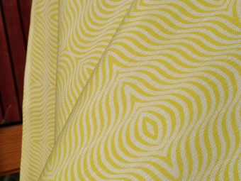 Tekstil i lin og bomull